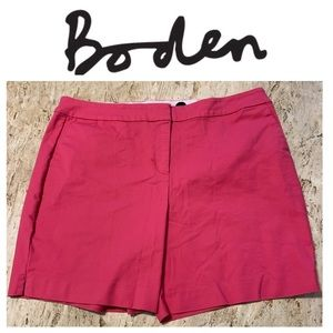 "NWOT Boden Richmond 6"" Shorts. Size 12."